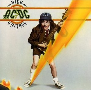 AC/DC CD High Voltage 1976