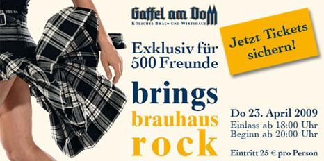 Brings Brauhaus Gig