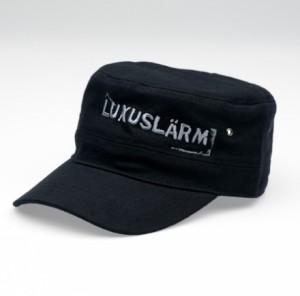 Luxuslärm Cap Schwarz