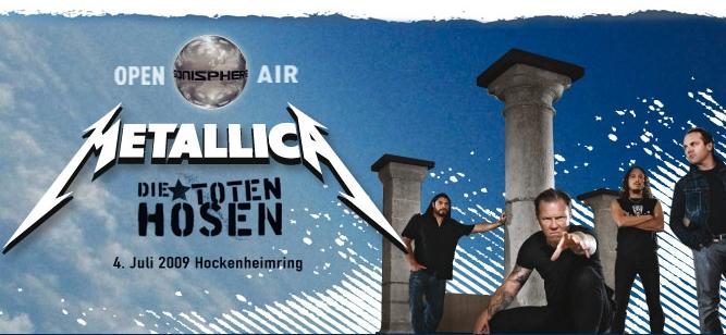 Metallica Konzert 2009