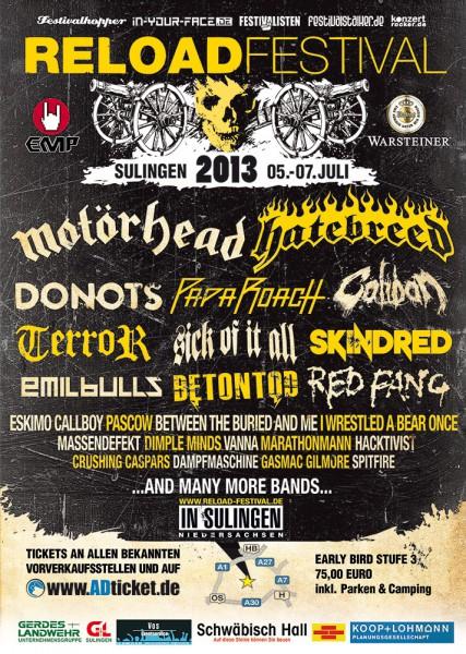 Reload Festival 2013